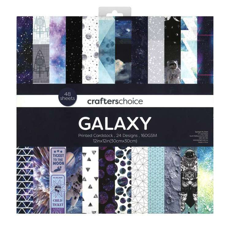 Crafters Choice Galaxy Paper Pad