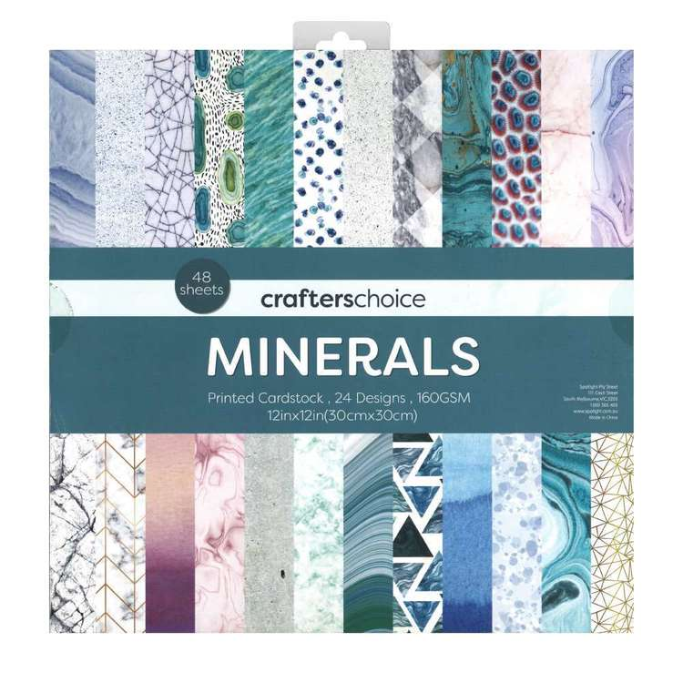 Crafters Choice Minerals Paper Pad Multicoloured