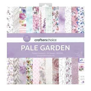 Crafters Choice Pale Garden Paper Pad
