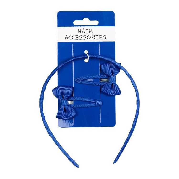 Aliceband with Bow Clips