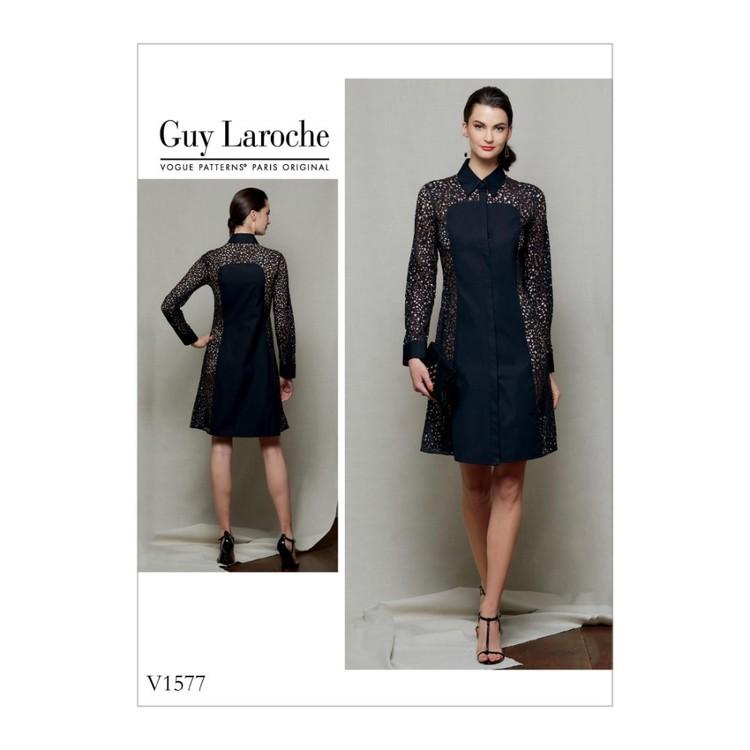 Vogue Pattern V1577 Guy Laroche Misses' & Misses' Petite Dress