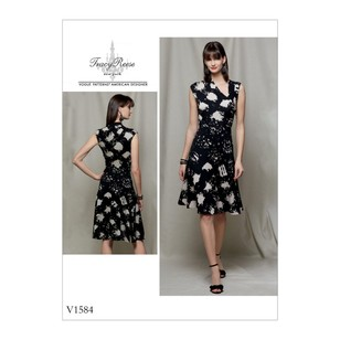 Vogue Pattern V1584 Tracy Reese Misses' Dress