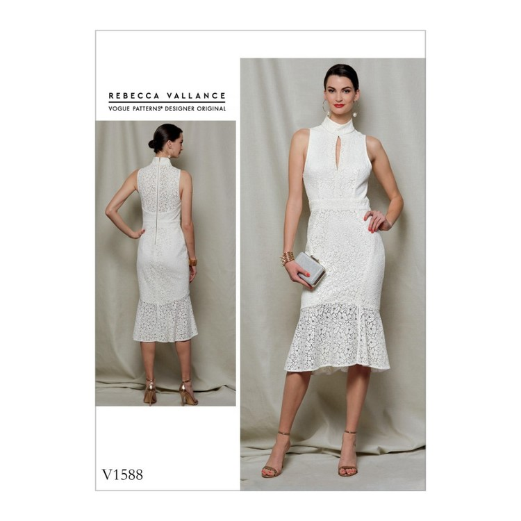 Vogue Pattern V1588 Rebecca Vallance Misses' Dress