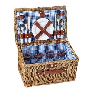 Willow Four Persons Picnic Baskets