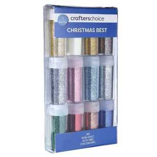 Crafters Choice Christmas Best Glitter Set