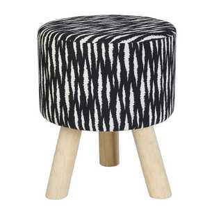 Ombre Home Neon Tropics Printed Stool
