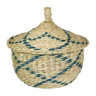 Ombre Home Neon Tropics Medium Basket