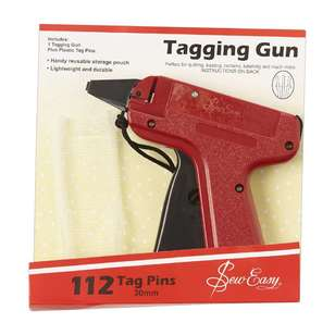 Sew Easy Tag Gun & 112 Tag Pins
