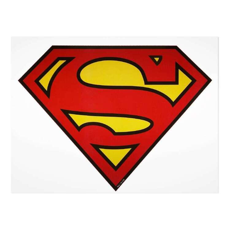 Simplicity Large Super-Man Iron On Transfer