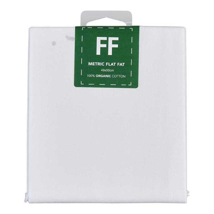 Organic Quilt Cotton Fat Flat