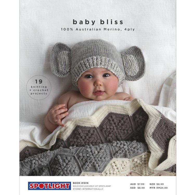 fda176cfaec1 Baby Bliss Merino Pattern Book