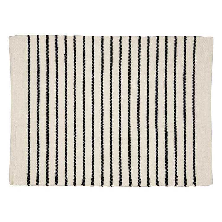KOO Elite Sorrento Stripe Bath Mat