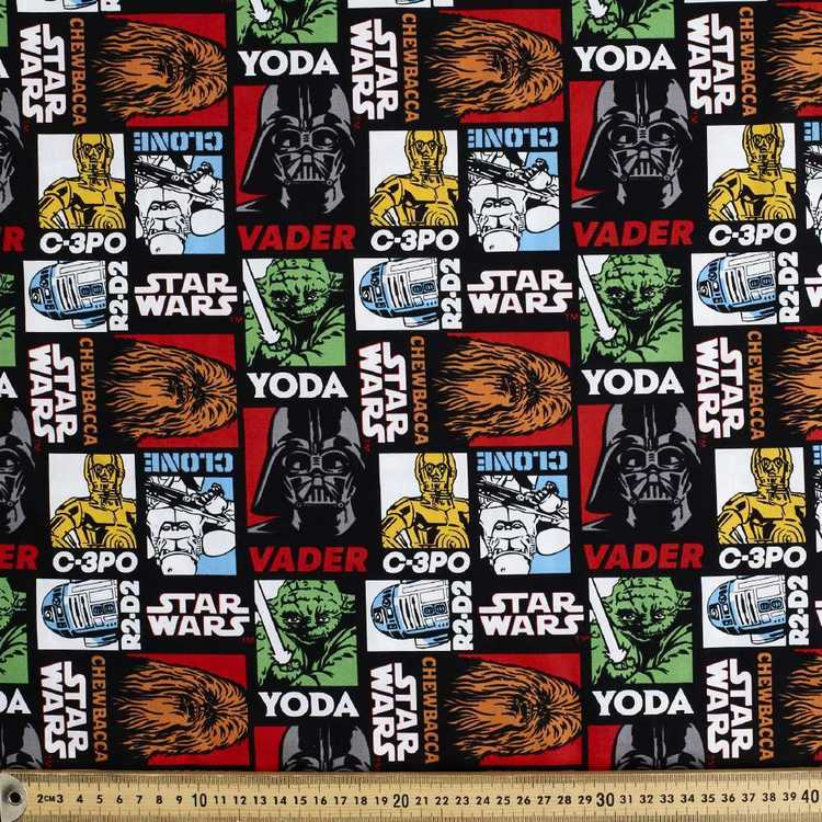 Star Wars Saga Allover Poplin