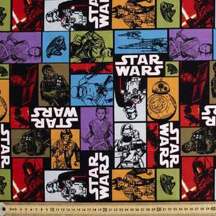 Star Wars Characters Allover Poplin
