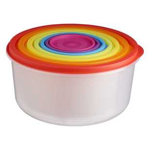 Food Container 7 Piece Round