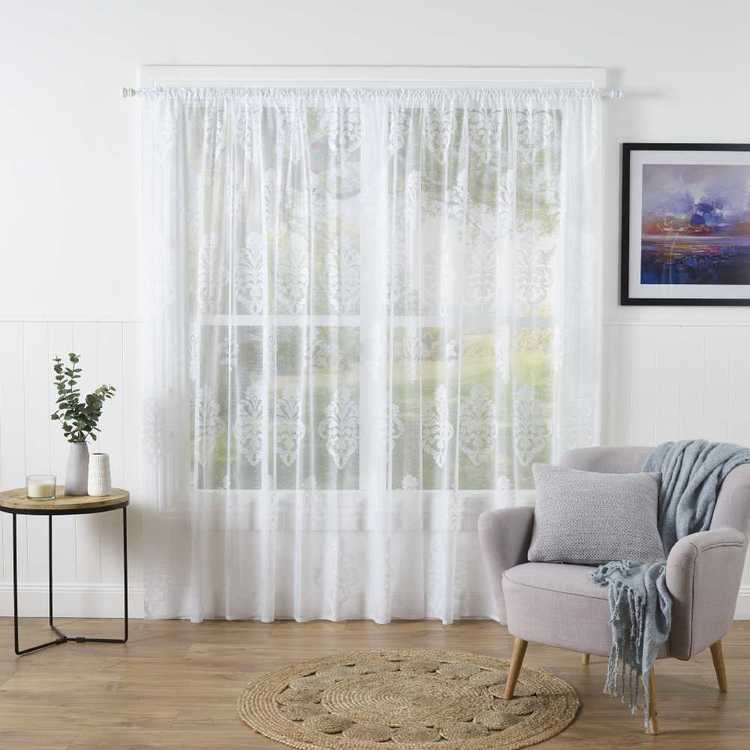 Caprice Charlotte Continous Sheer Curtain