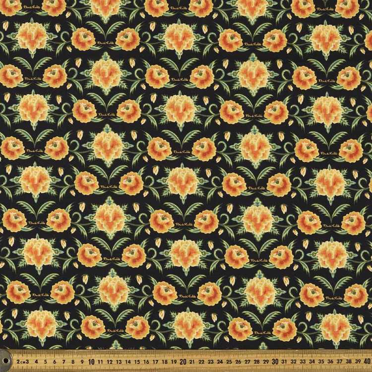Frida Kahlo Floral Allover Fabric