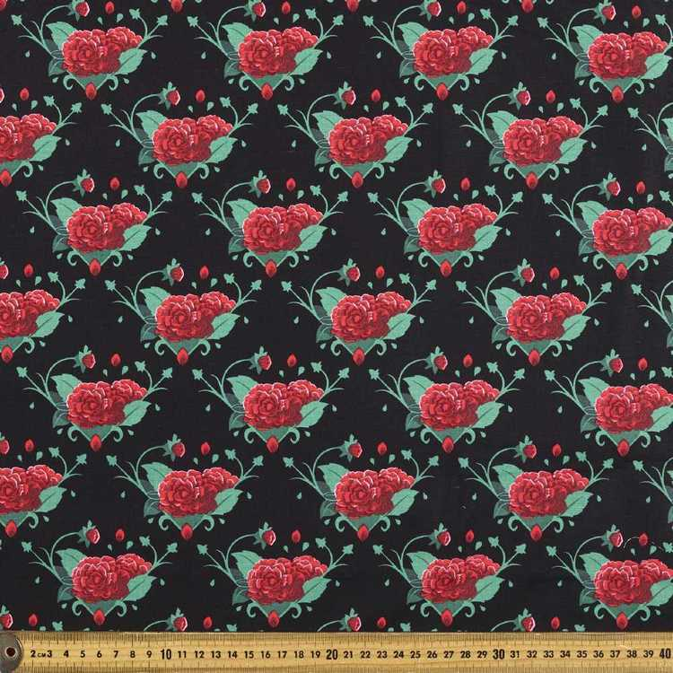 Frida Kahlo Roses Allover Fabric
