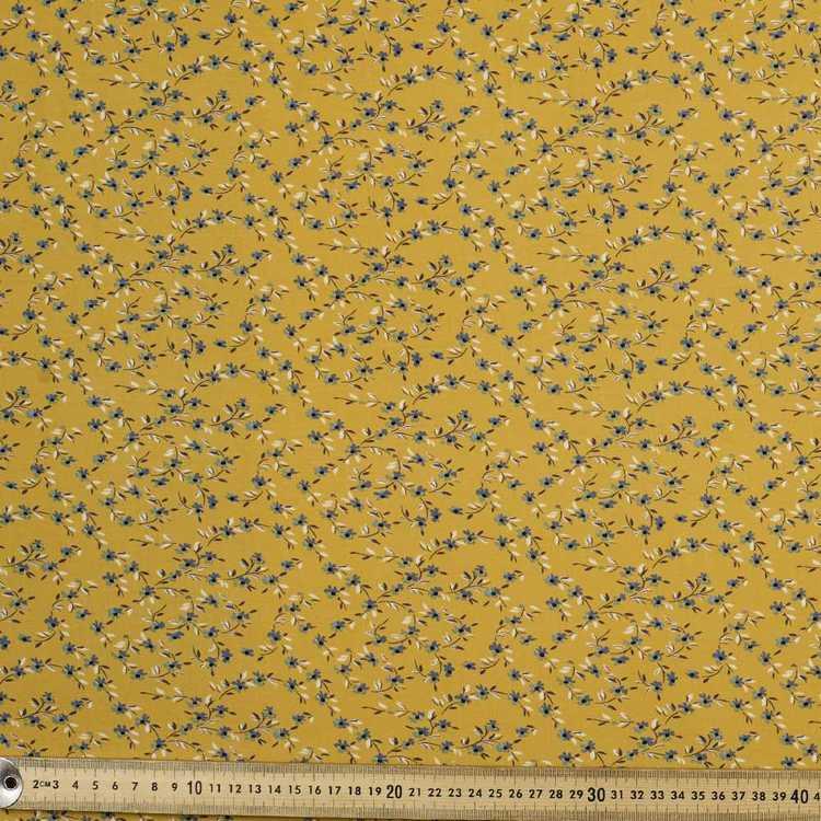 Prairie Floral Printed Rayon Fabric