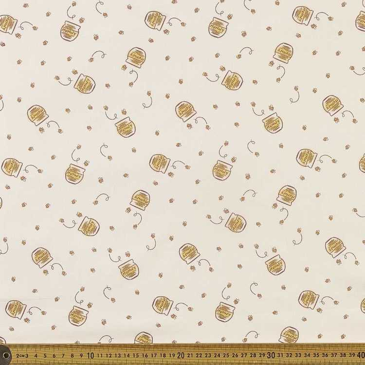 Winnie The Pooh Hunny All Over Fabric