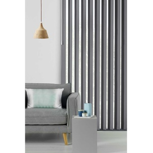 Caprice Platinum Vertical Blind Charcoal