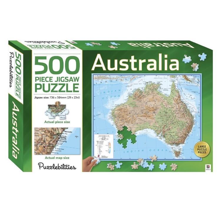 Hinkler 500 Piece Jigsaw - Australia