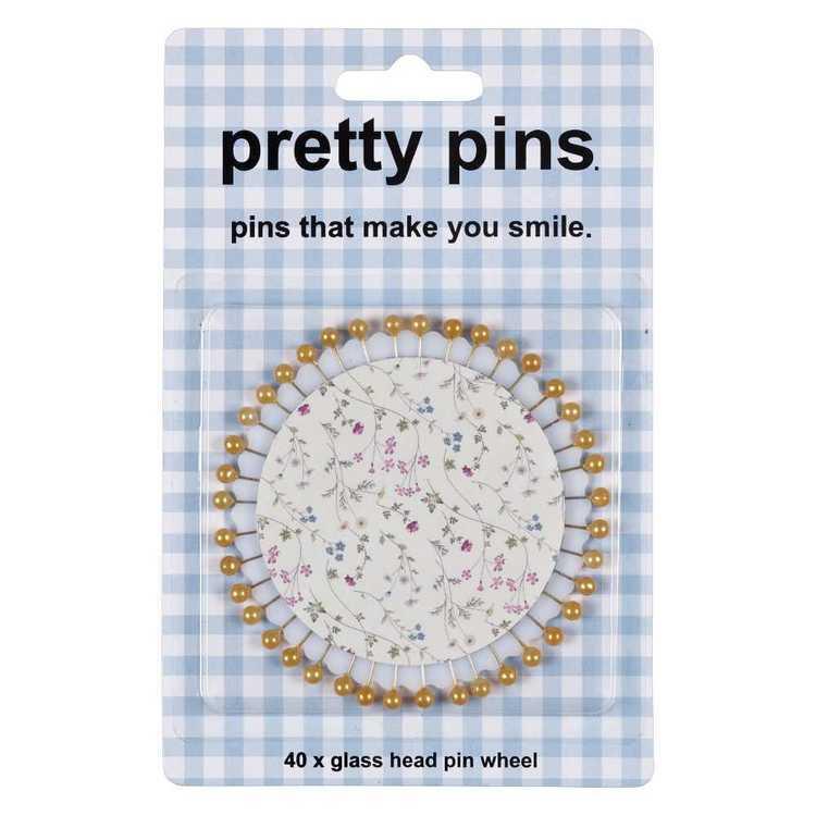 Floral Pin Wheel