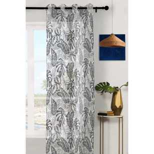 Caprice Tropical Eyelet Sheer Curtains