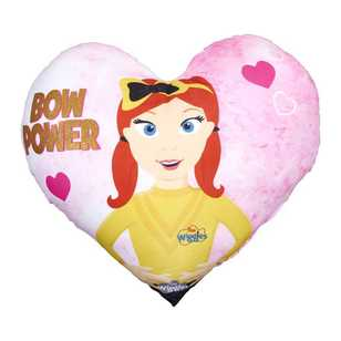 Emma Wiggle Heart Cushion