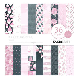 Kaisercraft Sparkle 12 inches Paper Pad