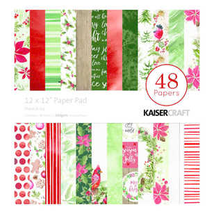 Kaisercraft Peace & Joy 12 inches Paper Pad