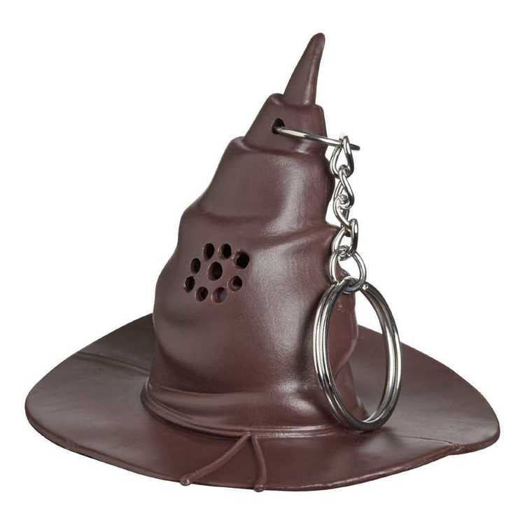 Harry Potter Sorting Hat Key Ring Brown