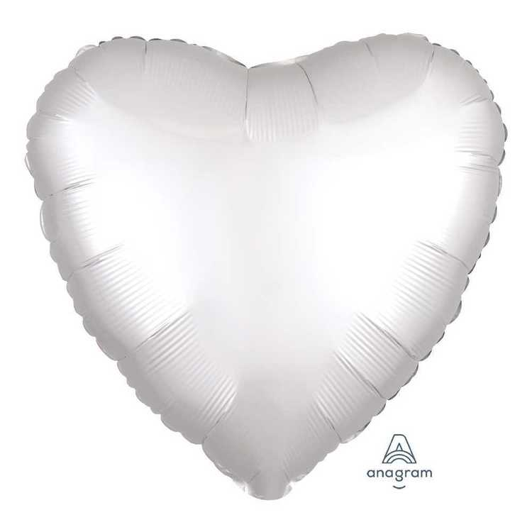 Anagram Foil Satin Luxe Heart
