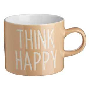 Think Happy Can Mug