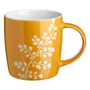 Vine Leaf Coupe Mug