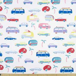 Ellie Whittaker Campervans Printed Fabric