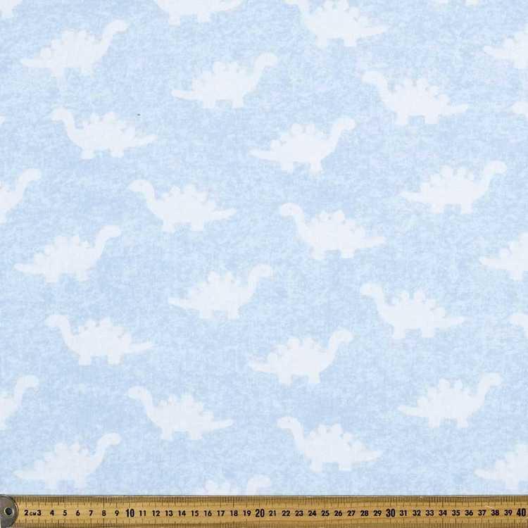 Dino Printed Distressed Jersey Fabric