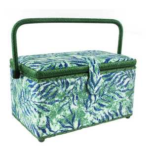 Semco Jungle Leaves Sewing Basket