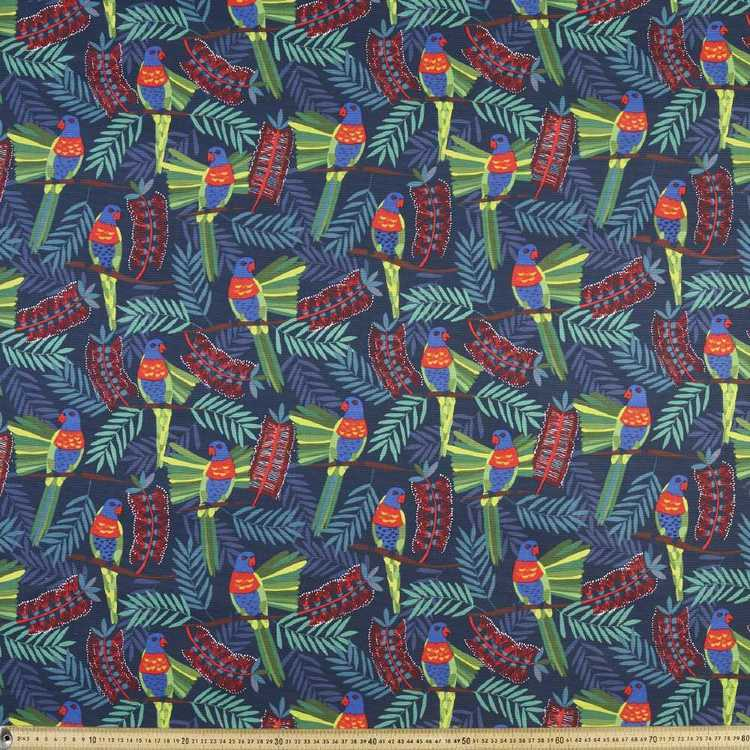 Jocelyn Proust Rosella Printed Fabric Multicoloured 150 cm
