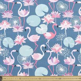 Jocelyn Proust Flamingo Printed Fabric