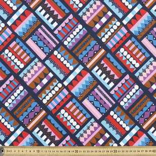 Jocelyn Proust Bold Stacks Printed Fabric