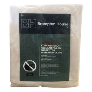 Brampton House Waterproof Stain Resistant Pillow Protector