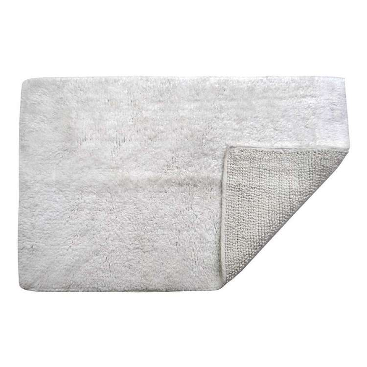 KOO Cotton Reversible Bath Mat