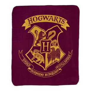 Harry Potter Hogwarts Throw