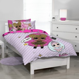 LOL Glitterati Quilt Cover Set