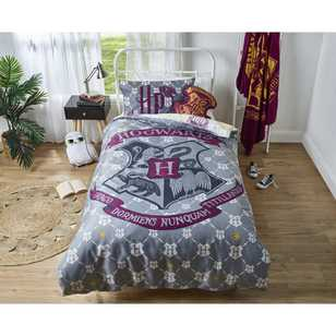 Harry Potter Hogwarts Quilt Cover Set
