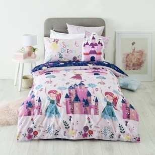 Kids House Fairy Castle Quilt Cover Set