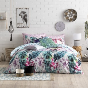 Ombre Home Beautiful Nomad Koa Quilt Cover Set
