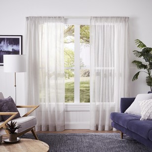 Enviro Ready to Hang Pencil Pleat Sheer Curtains