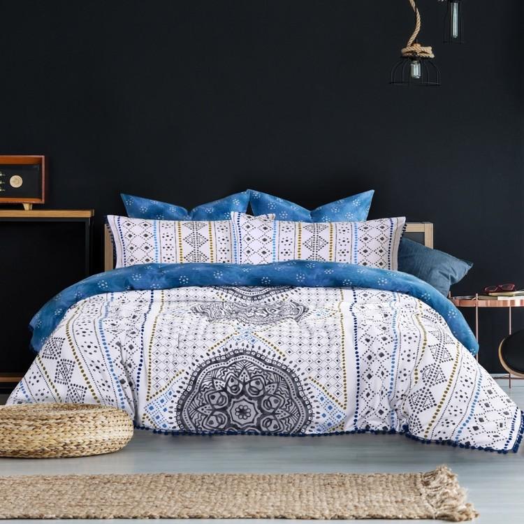 Belmondo Home Azure Quilt Cover Set